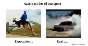 Australian transport meme