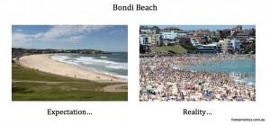bondi beach meme