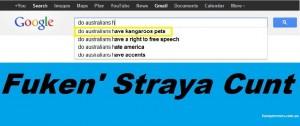 google Straya meme